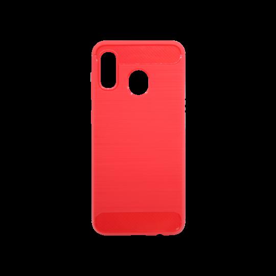 Samsung Galaxy A20 / A30 - Gumiran ovitek (TPU) - rdeč A-Type