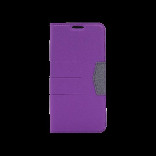 Samsung Galaxy A20 / A30 - Preklopna torbica (47G) - vijolična