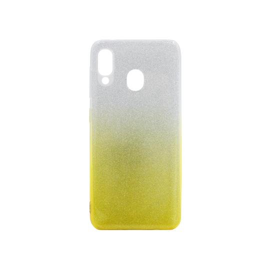 Samsung Galaxy A20 / A30 - Gumiran ovitek (TPUB) - rumena