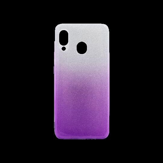 Samsung Galaxy A20 / A30 - Gumiran ovitek (TPUB) - vijolična