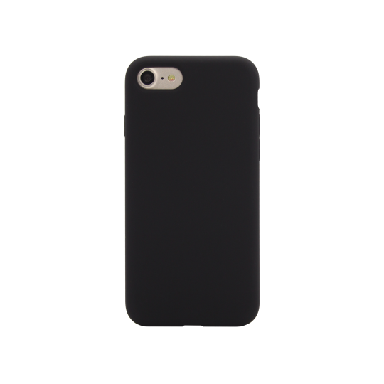 Apple iPhone 7/8 - Silikonski ovitek (liquid silicone) - Soft - Black
