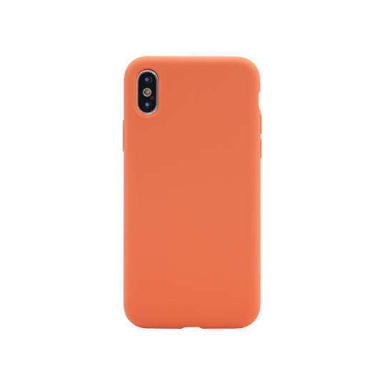 Apple iPhone X/XS - Silikonski ovitek (liquid silicone) - Soft - Nectarine