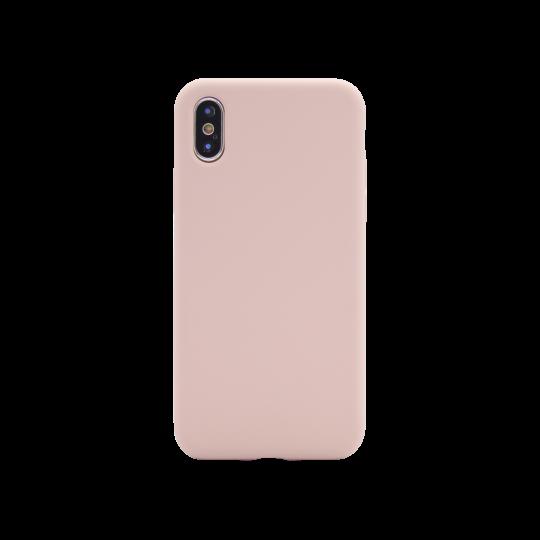 Apple iPhone X/XS - Silikonski ovitek (liquid silicone) - Soft - Pink Sand
