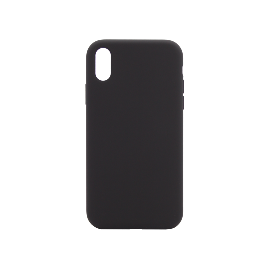 Apple iPhone XR - Silikonski ovitek (liquid silicone) - Soft - Black