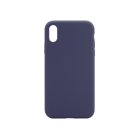 Apple iPhone XR - Silikonski ovitek (liquid silicone) - Soft - Midnight Blue