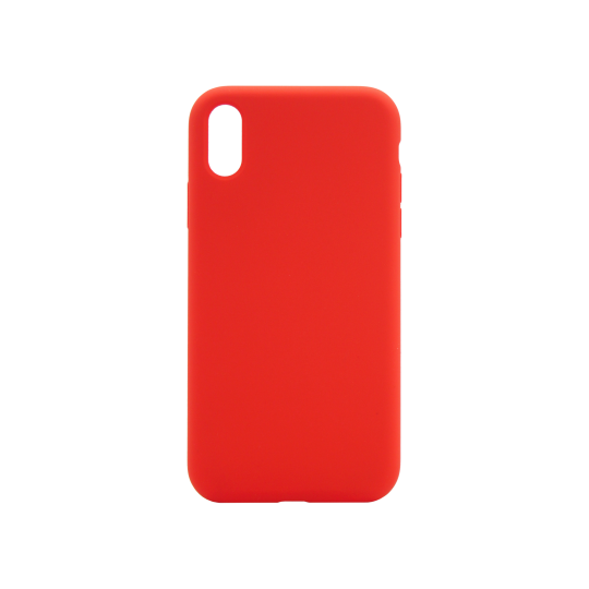 Apple iPhone XR - Silikonski ovitek (liquid silicone) - Soft - Red
