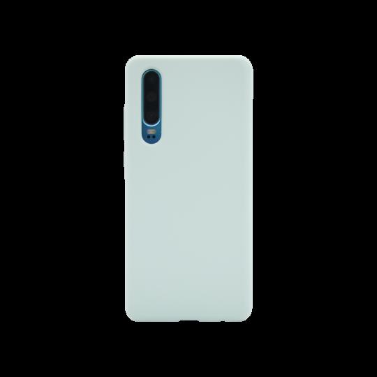 Huawei P30 - Silikonski ovitek (liquid silicone) - Soft - Sky Blue