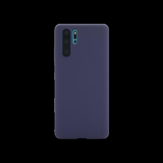 Huawei P30 Pro - Silikonski ovitek (liquid silicone) - Soft - Midnight Blue