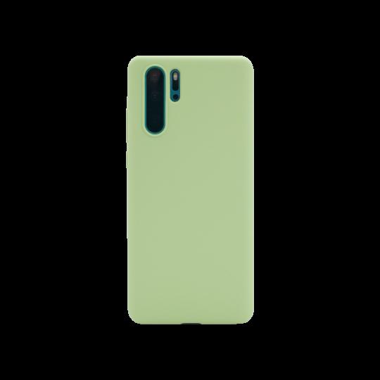 Huawei P30 Pro - Silikonski ovitek (liquid silicone) - Soft - Mint Green