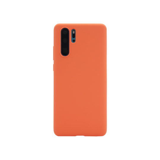 Huawei P30 Pro - Silikonski ovitek (liquid silicone) - Soft - Nectarine