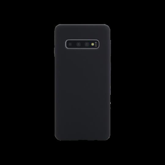 Samsung Galaxy S10 - Silikonski ovitek (liquid silicone) - Soft - Black
