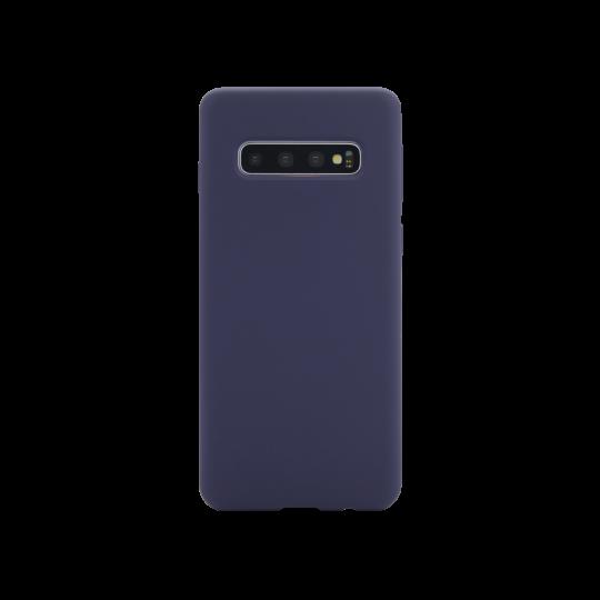 Samsung Galaxy S10+ - Silikonski ovitek (liquid silicone) - Soft - Midnight Blue