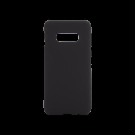 Samsung Galaxy S10e - Silikonski ovitek (liquid silicone) - Soft - Black