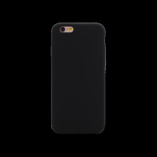Apple iPhone 6Plus/6S Plus - Silikonski ovitek (liquid silicone) - Soft - Black