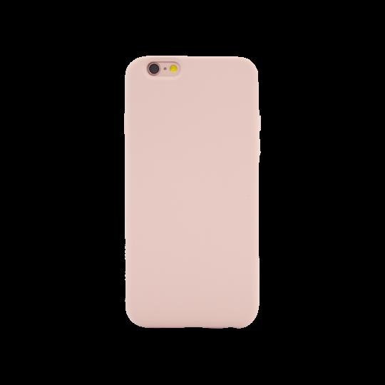 Apple iPhone 6Plus/6S Plus - Silikonski ovitek (liquid silicone) - Soft - Pink Sand