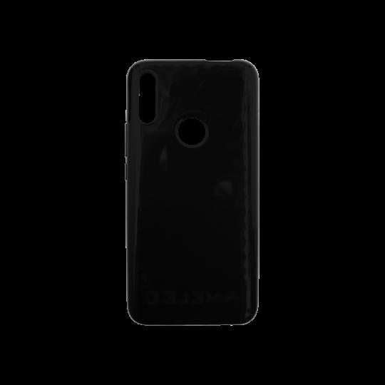 Huawei P Smart Z - Gumiran ovitek (TPU) - črn svetleč