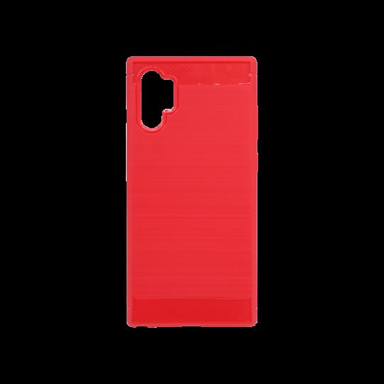 Samsung Galaxy Note 10+ - Gumiran ovitek (TPU) - rdeč A-Type