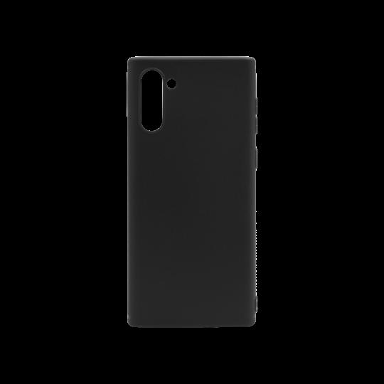 Samsung Galaxy Note 10 - Gumiran ovitek (TPU) - črn MATT