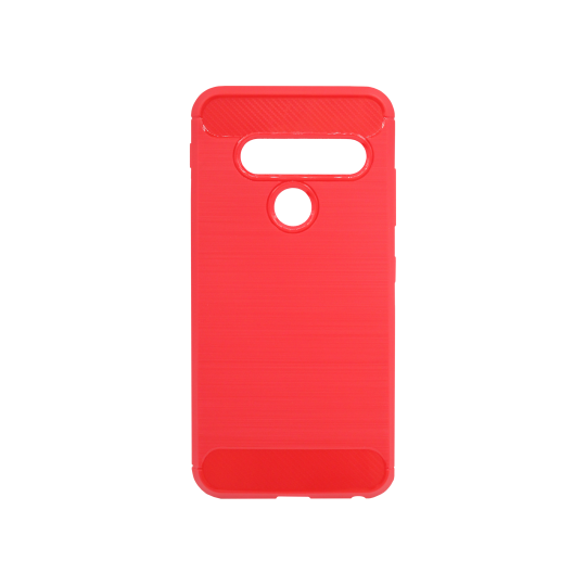 LG G8s ThinQ - Gumiran ovitek (TPU) - rdeč A-Type