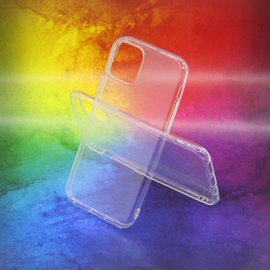Apple iPhone 11 Pro - Gumiran ovitek (TPUA) - prosojen