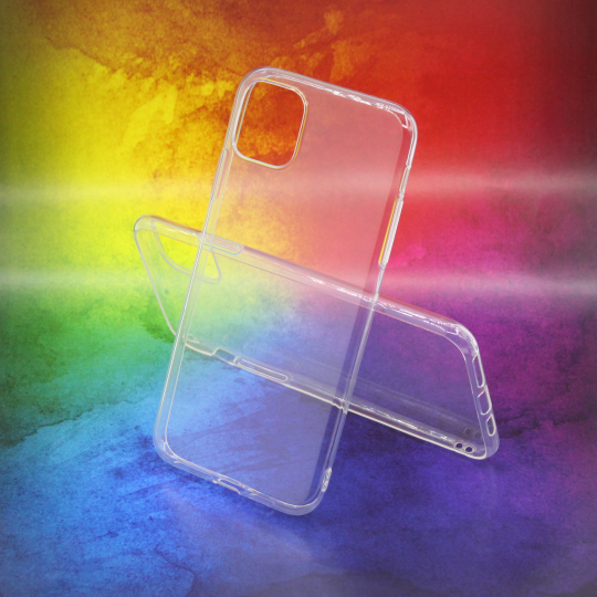 Apple iPhone 11 Pro Max - Gumiran ovitek (TPUA) - prosojen