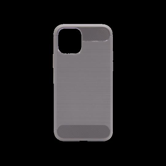Apple iPhone 11 Pro - Gumiran ovitek (TPU) - siv A-Type