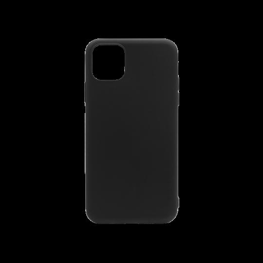 Apple iPhone 11 Pro Max - Gumiran ovitek (TPU) - črn MATT