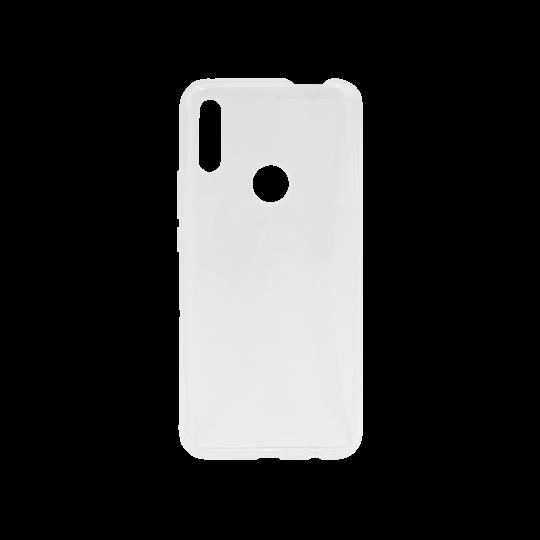 Huawei P Smart Z - Gumiran ovitek (TPU) - belo-prosojen svetleč
