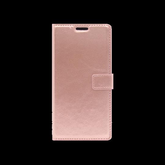 Samsung Galaxy Note 10 - Preklopna torbica (WLC) - roza-zlata