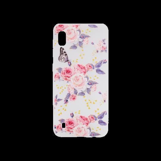 Samsung Galaxy A10 - Gumiran ovitek (TPUP) - Pink Roses