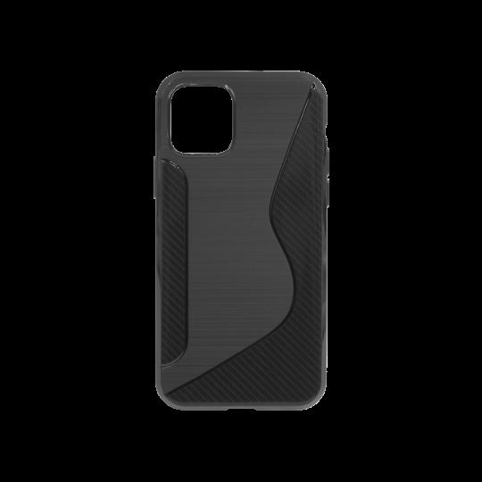 Apple iPhone 11 Pro - Gumiran ovitek (TPU) - črn CS-Type