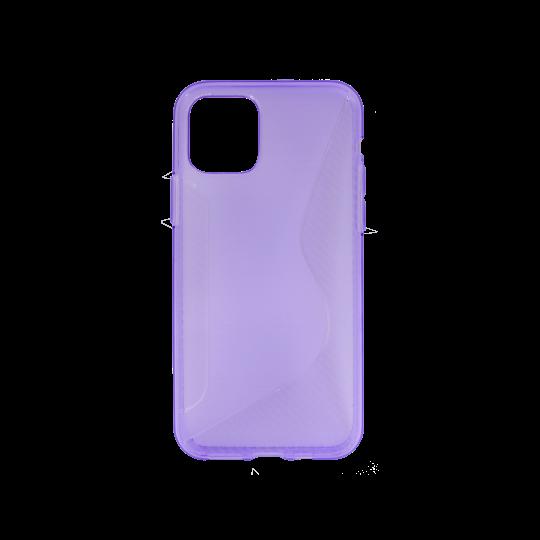 Apple iPhone 11 Pro - Gumiran ovitek (TPU) - vijolično-prosojen CS-Type