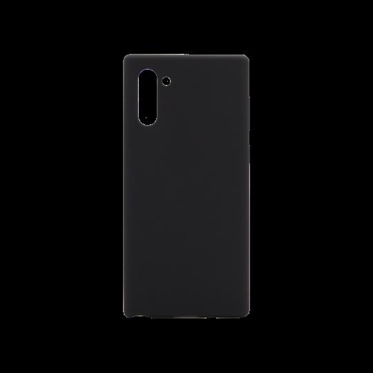 Samsung Galaxy Note 10 - Silikonski ovitek (liquid silicone) - Soft - Black