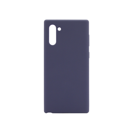 Samsung Galaxy Note 10 - Silikonski ovitek (liquid silicone) - Soft - Midnight Blue