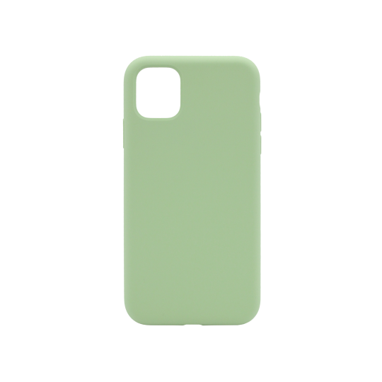 Apple iPhone 11 Pro - Silikonski ovitek (liquid silicone) - Soft - Mint Green