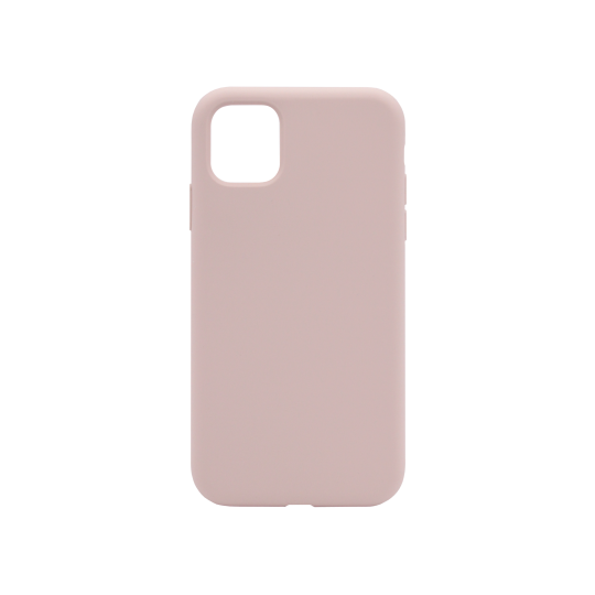 Apple iPhone 11 Pro - Silikonski ovitek (liquid silicone) - Soft - Pink Sand