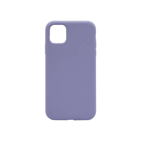 Apple iPhone 11 - Silikonski ovitek (liquid silicone) - Soft - Lavender Gray
