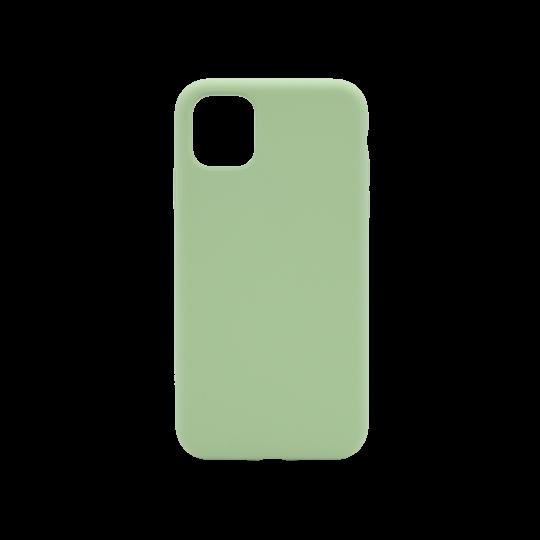Apple iPhone 11 - Silikonski ovitek (liquid silicone) - Soft - Mint Green
