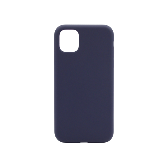 Apple iPhone 11 Pro Max - Silikonski ovitek (liquid silicone) - Soft - Midnight Blue