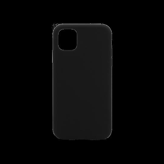 Apple iPhone 11 Pro Max - Silikonski ovitek (liquid silicone) - Soft - Black