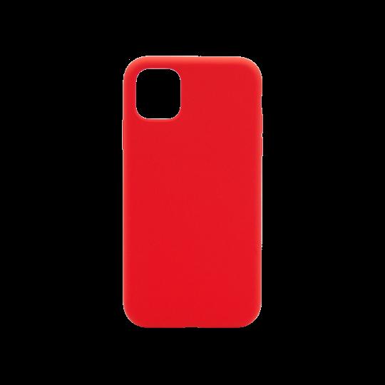 Apple iPhone 11 Pro Max - Silikonski ovitek (liquid silicone) - Soft - Red