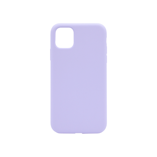 Apple iPhone 11 Pro Max - Silikonski ovitek (liquid silicone) - Soft - Lilac Purple