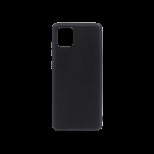 Samsung Galaxy Note 10 Lite - Gumiran ovitek (TPU) - črn MATT