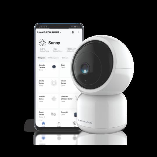 Pametni dom - WiFi Varnostna kamera 1080p 360° - Chameleon Smart Home