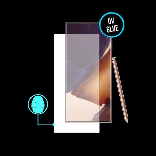 Samsung Galaxy Note 20 Ultra/Note 20 Ultra 5G - Zaščitno steklo Excellence - z UV lepilom (0,20)