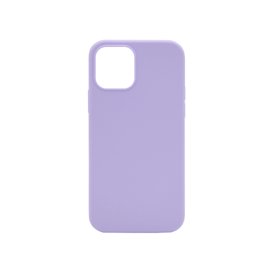 Apple iPhone 12/ 12 Pro - Silikonski ovitek (liquid silicone) - Soft - Lilac Purple