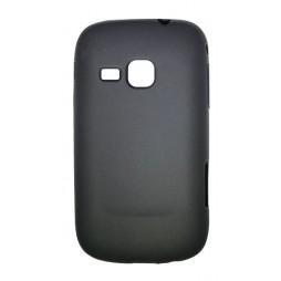 Samsung Galaxy Mini 2 - Gumiran ovitek (TPU) - črn mat
