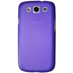 Samsung Galaxy S3 - Okrasni pokrovček (16) - vijoličen