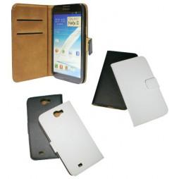Samsung Galaxy Note 2 - Preklopna torbica (04) - bela