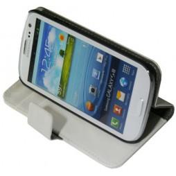 Samsung Galaxy S3 - Preklopna torbica (WL) - bela